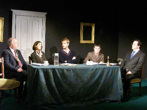 Peter Evans, Nadia Ostacchini, Patrick West-Oram, Joe Sargent, David Hall